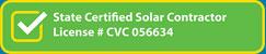 solar license